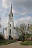 Catholic church in Ivanovo stock photography