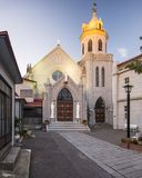 Catholic Church in Japan. Motomachi Catholic Church. The church dates back to 1877 Royalty Free Stock Image