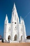 Catholic  Church in Kanyakumari Stock Photos