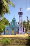 Catholic Church in Kanyakumari. Stock Image