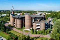 Catholic Church in Katowice, Poland Royalty Free Stock Image