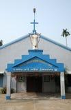 Catholic Church in Kumrokhali, West Bengal Royalty Free Stock Images