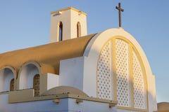 Catholic Church in Laayoune. Laayoune, Western Sahara, Morocco royalty free stock image