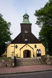 Catholic Church in Leba, Poland. Stock Images