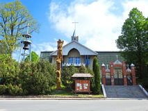 Catholic church, Lithuania Stock Photography