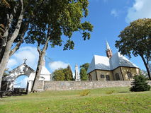 Catholic Church, Lithuania Royalty Free Stock Photos