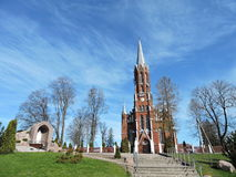 Catholic church, Lithuania Stock Images