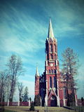 Catholic church, Lithuania Royalty Free Stock Image