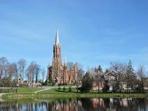 Catholic church, Lithuania Royalty Free Stock Images