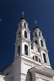 Catholic church. The Catholic church located in the territory of Belarus Royalty Free Stock Photo