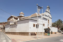 Catholic church in Mazarron, Spain Royalty Free Stock Photography