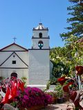 Catholic Church and Mission in Santa Barbara Royalty Free Stock Photography