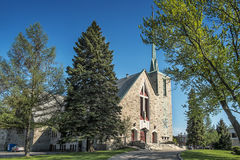 Catholic Church of Montreal. Parish:Saint Paul de la Croix, Catholic Church of Montreal Royalty Free Stock Image