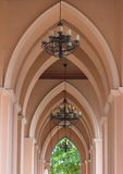 Catholic Church. The most beautiful Catholic church of Southeast Asia in Chuntaburi Stock Images
