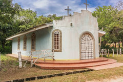 Catholic church in near La Perla, Nicaragua Stock Photos