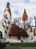 Catholic church. New and modern catholic church in Transylvania,Romania Stock Photos