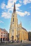 Catholic church in Novi Sad Stock Photo