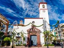 Catholic Church of Nuestra Senora del Rosario Royalty Free Stock Photos