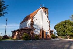 Catholic church of Paulo Afonso Royalty Free Stock Photography