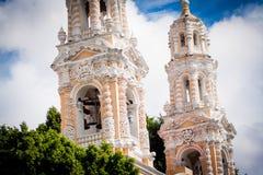Catholic Church at puebla, mexico Royalty Free Stock Photography