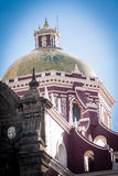 Catholic Church at puebla, mexico Stock Photo