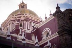 Catholic Church at puebla, mexico Stock Photo