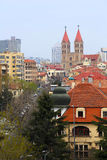 The Catholic church of Qingdao, China Stock Photo