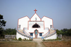 Catholic Church in Ranigarh, West Bengal Royalty Free Stock Photography