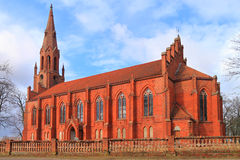 Catholic church Rauterskirkh Royalty Free Stock Images