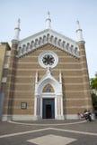 Catholic church in Rimini, Italy Royalty Free Stock Image