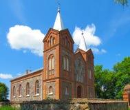 Catholic Church. Roman Catholic Church in Latvia Royalty Free Stock Photo