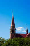 Catholic church in Romania Royalty Free Stock Images