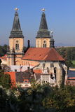 Catholic church in Roudnice nad Labem Stock Images