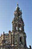 Catholic Church of Royal Court of Saxon, Dresden royalty free stock image