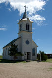 Catholic Church. A Catholic Church from the 1880s in South Dakota royalty free stock image