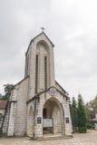 The Catholic church in Sa Pa, Vietnam Royalty Free Stock Photography