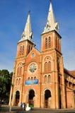 Catholic church in Saigon, VietNam Stock Photography
