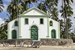 Catholic Church of Saint Benedict in Sheep Beach in northeast Brazil Stock Photography