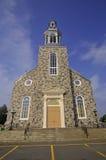 Catholic church, Sainte-Luce-sur-Mer Stock Image