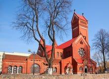 Catholic church of Saints Simon and Helena Royalty Free Stock Images