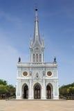 Catholic Church at Samut Songkhram Royalty Free Stock Photography