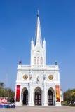Catholic church at Samut Songkhram, Thailand Royalty Free Stock Images