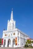 Catholic church at Samut Songkhram, Thailand Royalty Free Stock Image