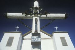 A Catholic Church in San Miguel New Mexico Royalty Free Stock Photography
