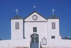 Catholic Church in San Miguel New Mexico Royalty Free Stock Photo