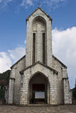 Catholic church in Sapa Royalty Free Stock Image