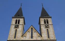 Catholic Church in Sarajevo Stock Image
