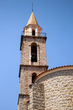 Catholic church. Sartene, South Corsica, France Royalty Free Stock Image