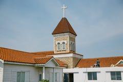 Catholic Church at Seopjikoji. Jeju, South Korea Stock Photo