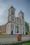 Catholic church in Seredzius. Lithuania Royalty Free Stock Images